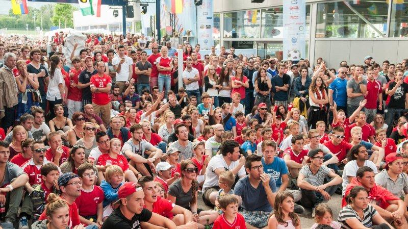 Nyon devrait avoir une nouvelle fan zone pour les matches de foot en Russie
