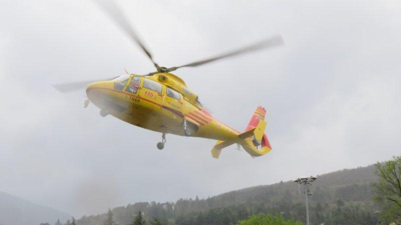 Grave accident avant le départ de la 5e étape — Tour d'Italie