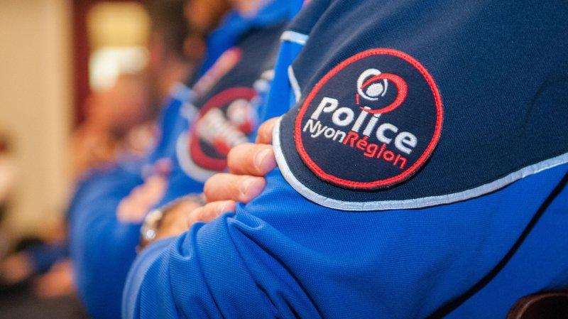 Augmentation du nombre d'interventions de Police Nyon Région