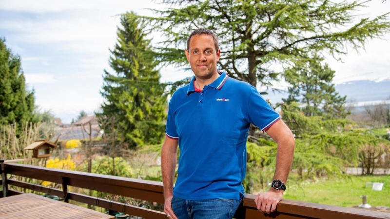 Au Gymnase de Nyon, Philippe Corthésy est passé d'élève à prof