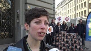 Contre le bruit routier, l'ATE remet une pétition à Berne