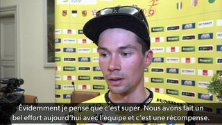 Tour de Romandie: le Slovène Primoz Roglic remporte le maillot jaune