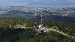 Jura vaudois: dynamitage de l'antenne Swisscom de la Barillette