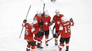 Hockey - Mondiaux 2018: la Suisse domine la Biélorussie 5 à 2, Meier réussit sa première