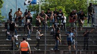 Un fan du Lausanne Sport et tagueur arrêté à Lugano