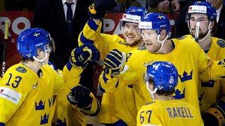 Hockey - Mondiaux 2018: la Suède accède à la finale en écrasant les Etats-Unis 6-0