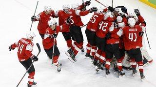 Hockey sur glace: la Suisse à nouveau 7e du classement mondial