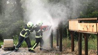Les pompiers,  d'hier à aujourd'hui
