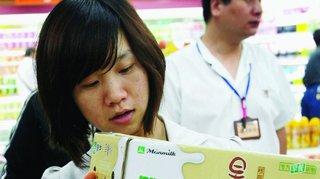 La Chine, un pays qui a soif de lait