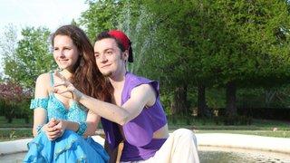 Aladdin en musique et en mouvements