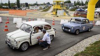 Cossonay: 100 voitures anciennes pour fêter le TCS en images