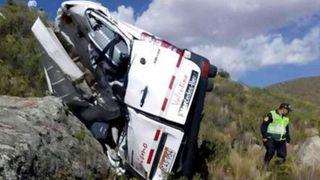 Un minibus plonge dans un ravin au Pérou: deux Allemands tués, dix autres blessés
