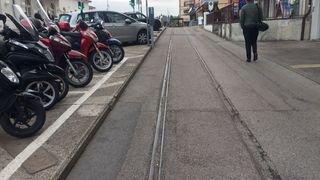 Nyon: une étude pour supprimer les anciens rails devant la gare