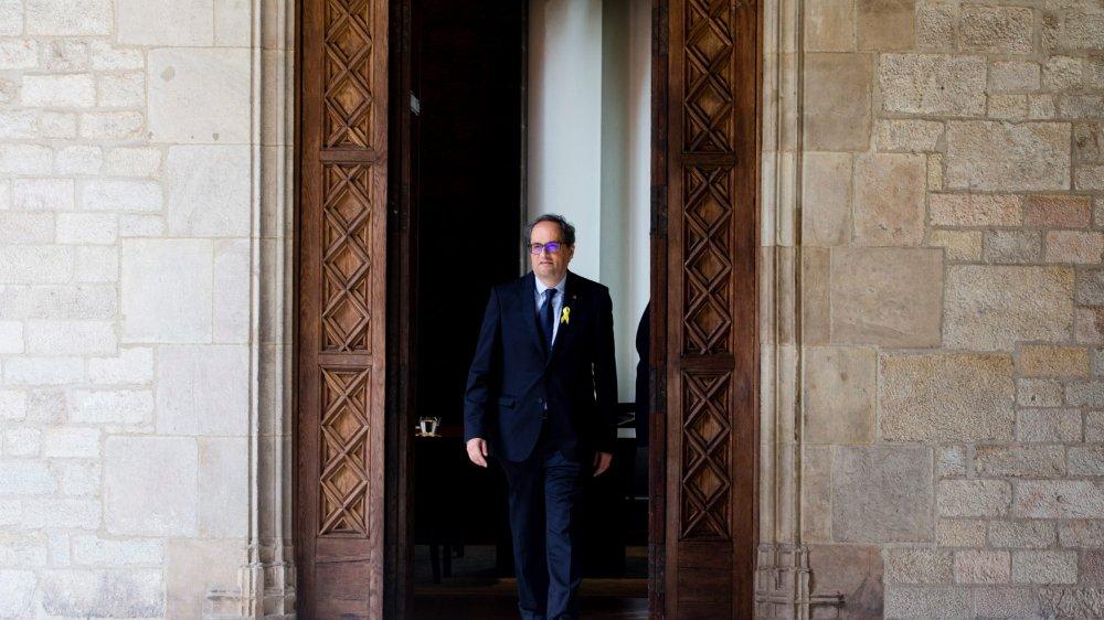 Le président catalan Quim Torra a nommé un nouveau  gouvernement.