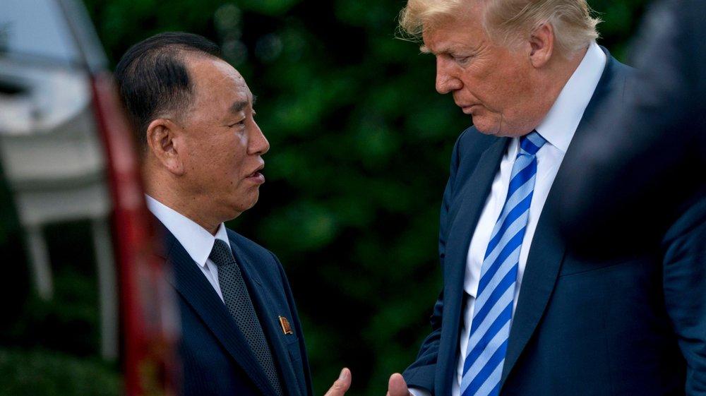 Trump dans de meilleures dispositions envers Kim