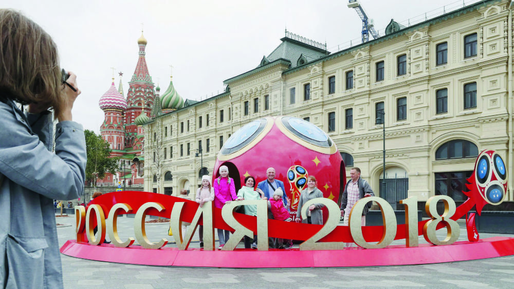 Selon Lada Umstätter, l'organisation de la Coupe du monde met aussi une grande pression sur les footballeurs russes.
