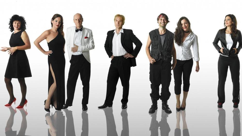 """Le groupe 100% vocal """"Voxset"""" fera vibrer la salle du Casino Théâtre au mois d'octobre."""