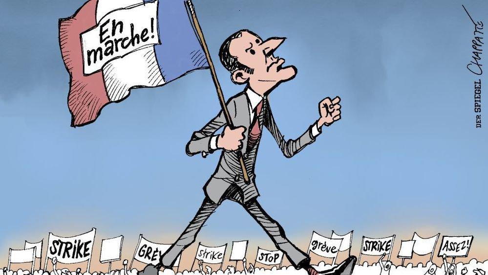 """Un dessin signé du Suisse Chappatte et publié en avril dernier dans l'hebdomadaire allemand """"Der Spiegel""""."""