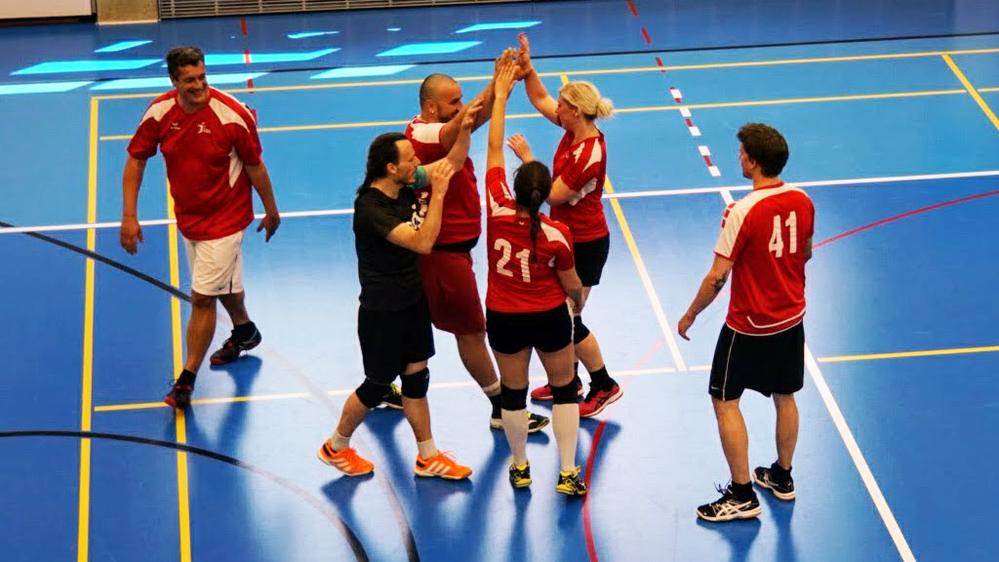 Les joueuses et joueurs morgiens ont remporté la Coupe vaudoise le 5 mai dernier.