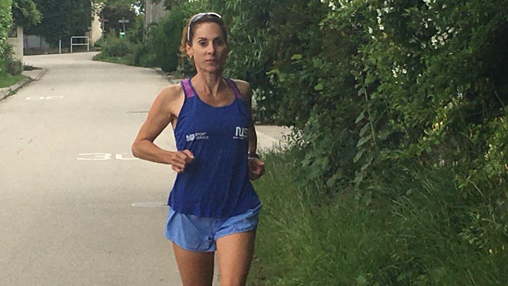 La Bachenard Emilia Rais a prévu de courir entre 48 et 52 km par jour.