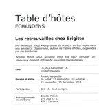 """Table d'hôtes """"Les retrouvailles chez Brigitte"""""""