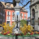 Les fontaines décorées