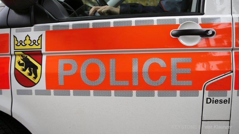 La police cantonale bernoise a découvert le corps vendredi soir (illustration).