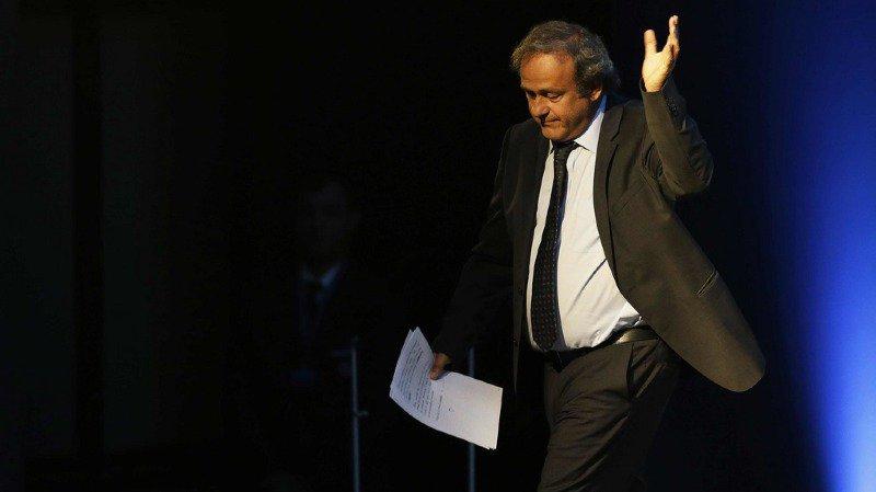 Suspendu de toute activité lié au football par la FIFA pendant 4 ans, Michel Platini est blanchi par la justice civile suisse (archives).