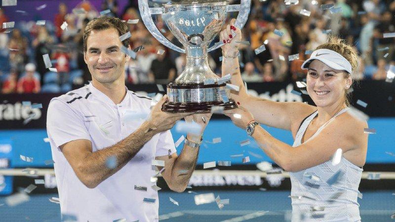 Tennis: Federer et Bencic défendront leur titre à la Hopman Cup