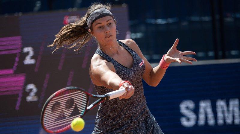 Roland-Garros: l'Argovienne Stefanie Vögele ne verra pas le 2e tour