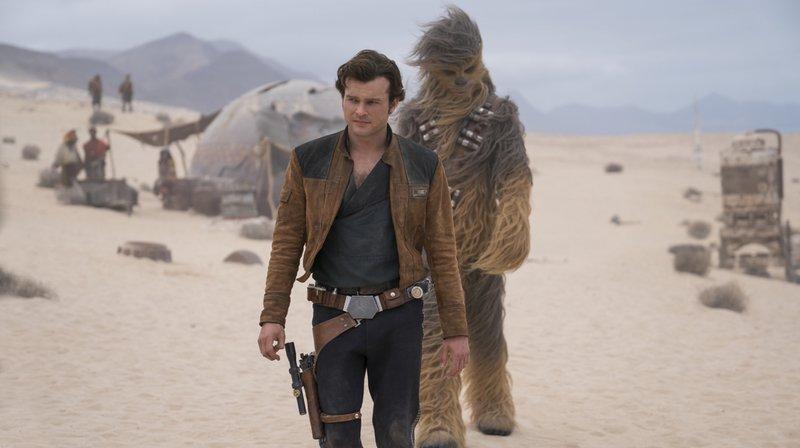 """Star Wars: débuts décevants pour """"Solo"""", dernier-né de la franchise de la """"Guerre des étoiles"""""""