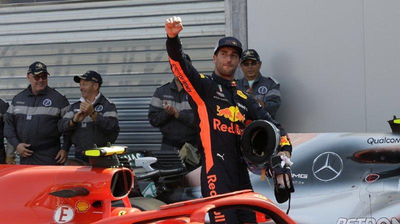 Daniel Ricciardo n'a pas encore course gagnée, mais il a fait un bout du chemin.