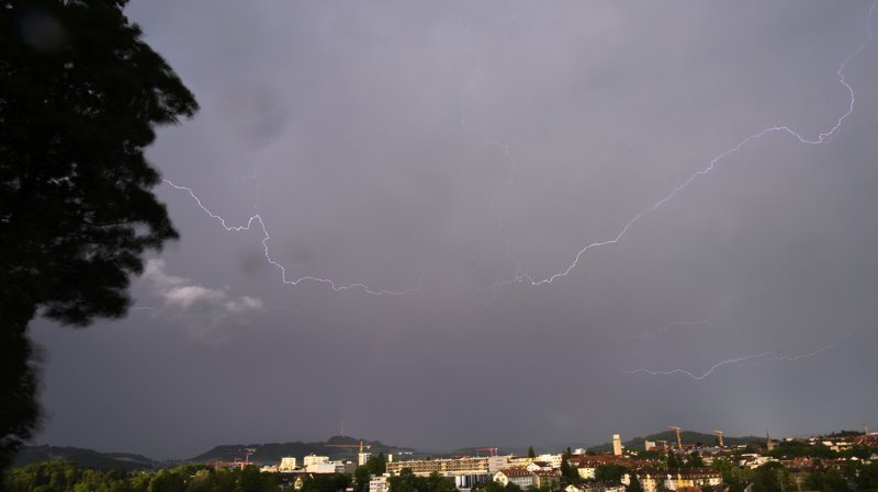 Berne: vents violents et inondations sur la région de Münsingen samedi soir