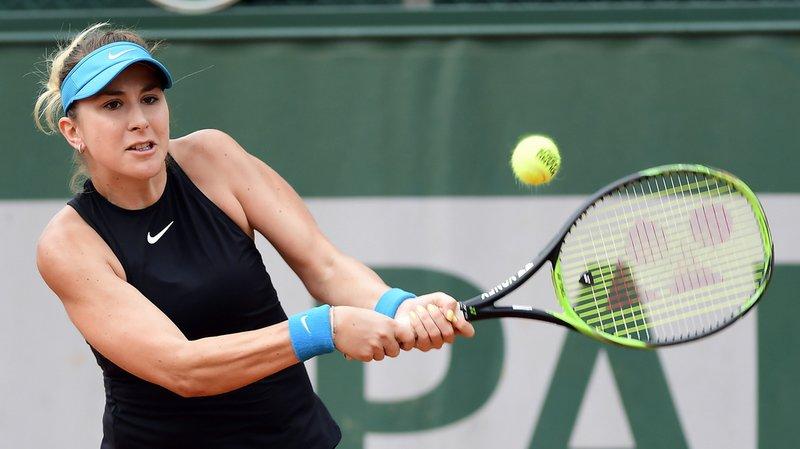 Roland-Garros: en guerrière, Bencic arrache la victoire face à Chiesa au premier tour