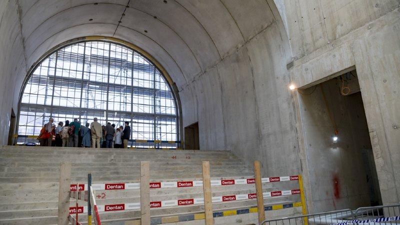 Lausanne: visite du chantier du futur musée des Beaux-Arts