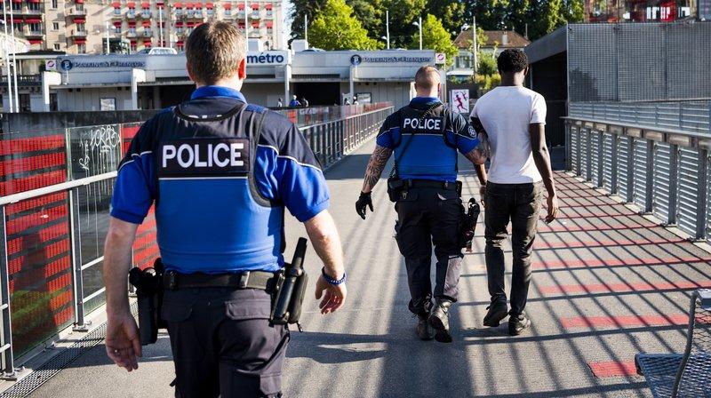 Deal de rue: renforcement de la présence policière à Lausanne