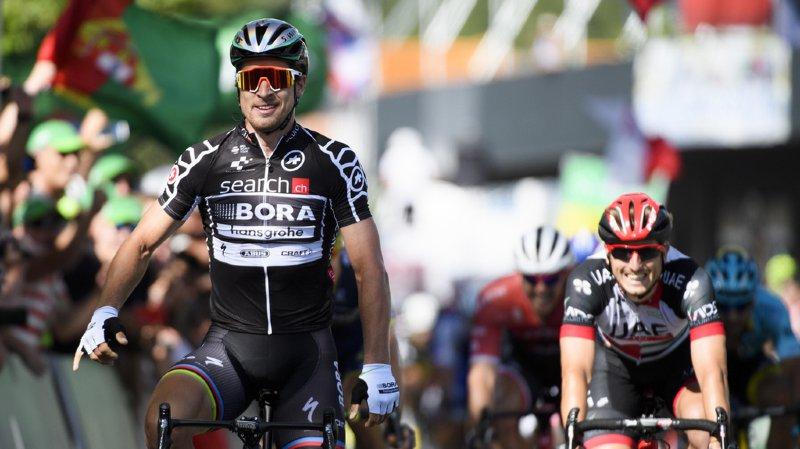 Cyclisme - Tour de Suisse: Peter Sagan remporte la 2e étape, Stefan Küng reste en jaune