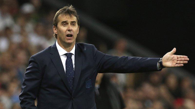 Julen Lopetegui a été démis de ses fonctions à la tête de l'équipe d'Espagne.