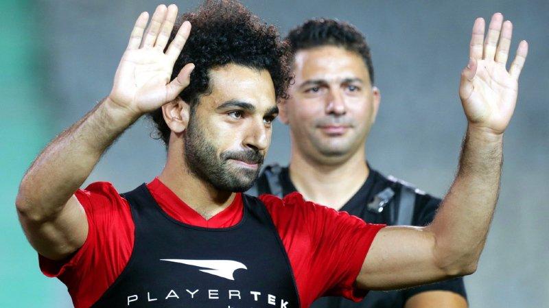 Coupe du monde 2018: la superstar égyptienne Mohamed Salah participe à son premier entraînement collectif après sa blessure