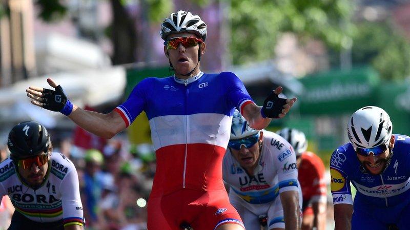 Cyclisme - Tour de Suisse: le Français Arnaud Démare remporte la 8e étape au sprint