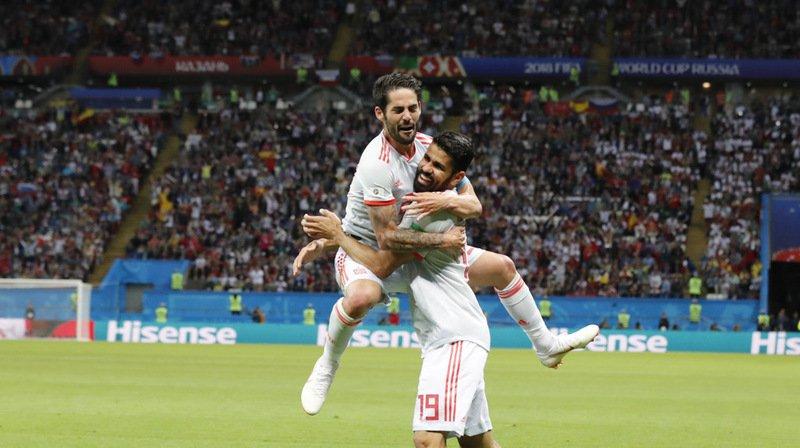 Coupe du monde 2018: l'Espagne fait sauter le verrou iranien, pour la FIFA, le but de Zuber est valable