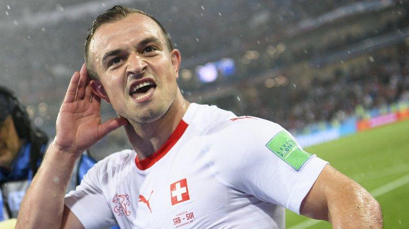 Coupe du monde 2018: Xherdan Shaqiri buteur providentiel sur fond de polémique