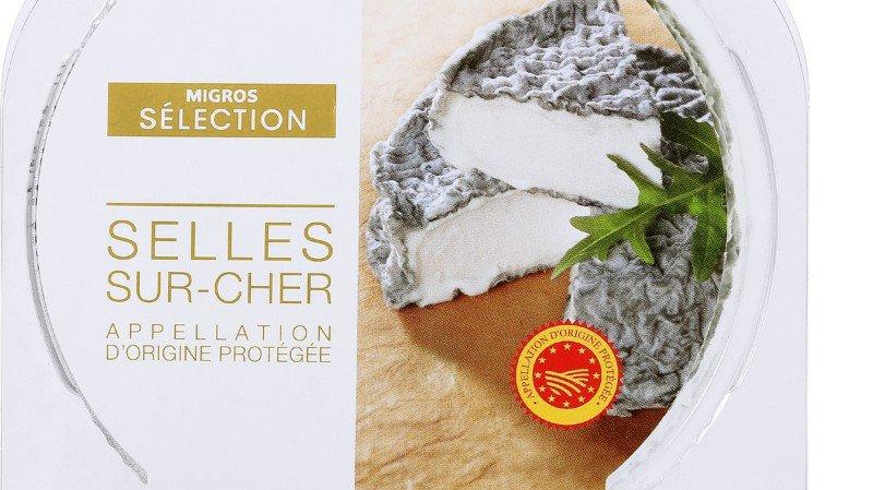 """Il s'agit du fromage de chèvre français au lait cru """"Selles-sur-Cher"""" de la marque Migros Sélection en emballage de 150g avec la date limite de consommation au 18 juillet 2018 y compris."""