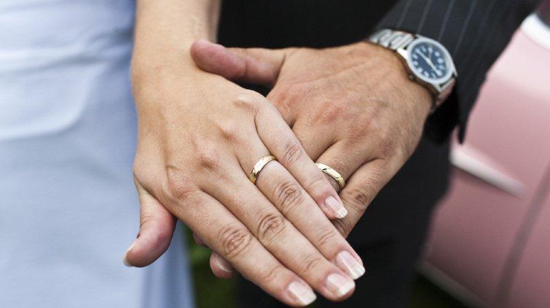 Il s'agit de l'un des mariages les plus courts de tous les temps. (illustration)