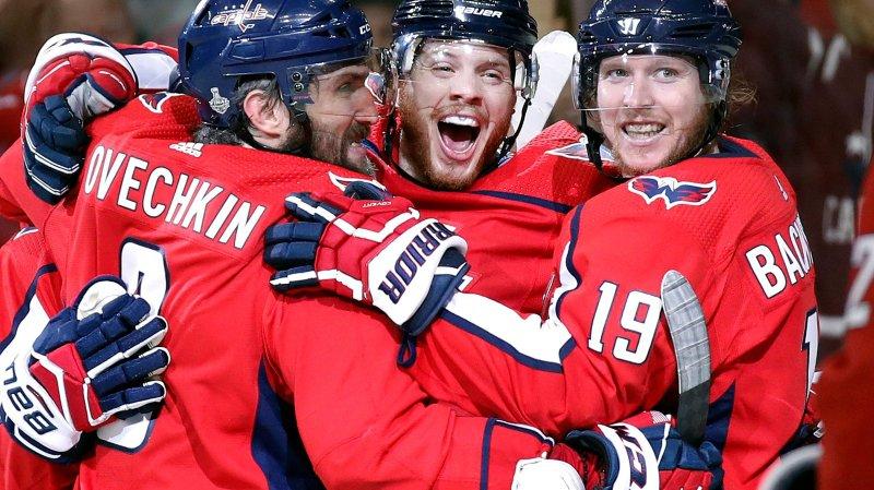 NHL: Washington n'est plus qu'à un succès de sa première Coupe Stanley
