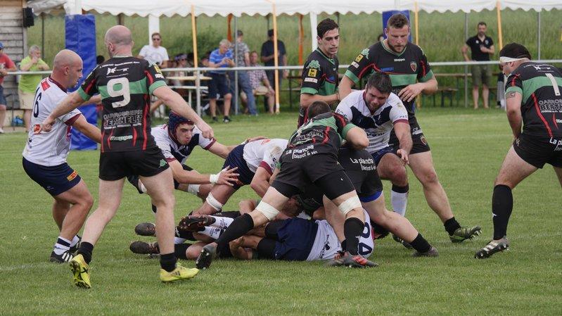 Giflé par Hermance, le Nyon Rugby Club n'accueillera pas sa demi-finale de championnat