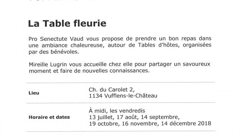 """Table d'hôtes """"La Table fleurie"""""""