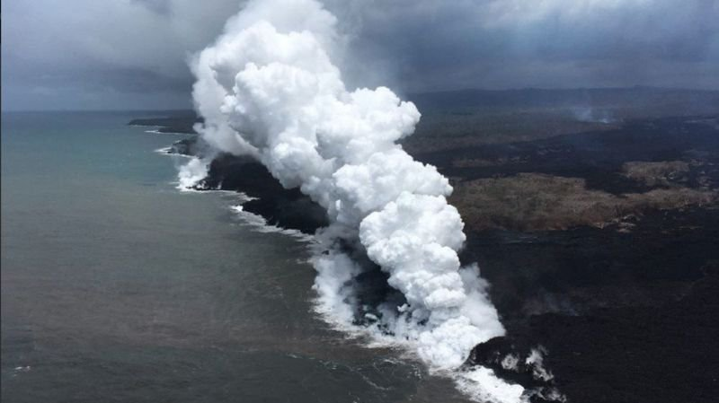 "Micronésie: un ""brouillard volcanique"" venu d'Hawaï atteint les îles Marshall"