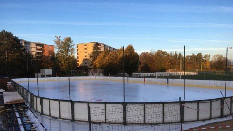 Perroy aura la plus grande patinoire de la région