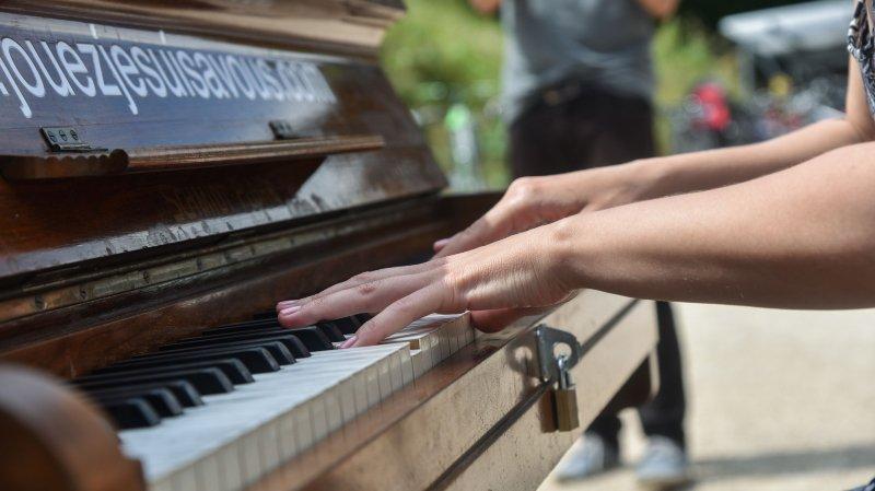 La question du jour: les pianos en libre-service seront-ils de retour en ce mois de juin, à Nyon?